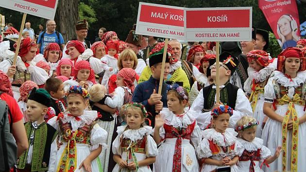 Setkání Hanáků na Svatováclavských hodech v Tovačově, 28. září 2021
