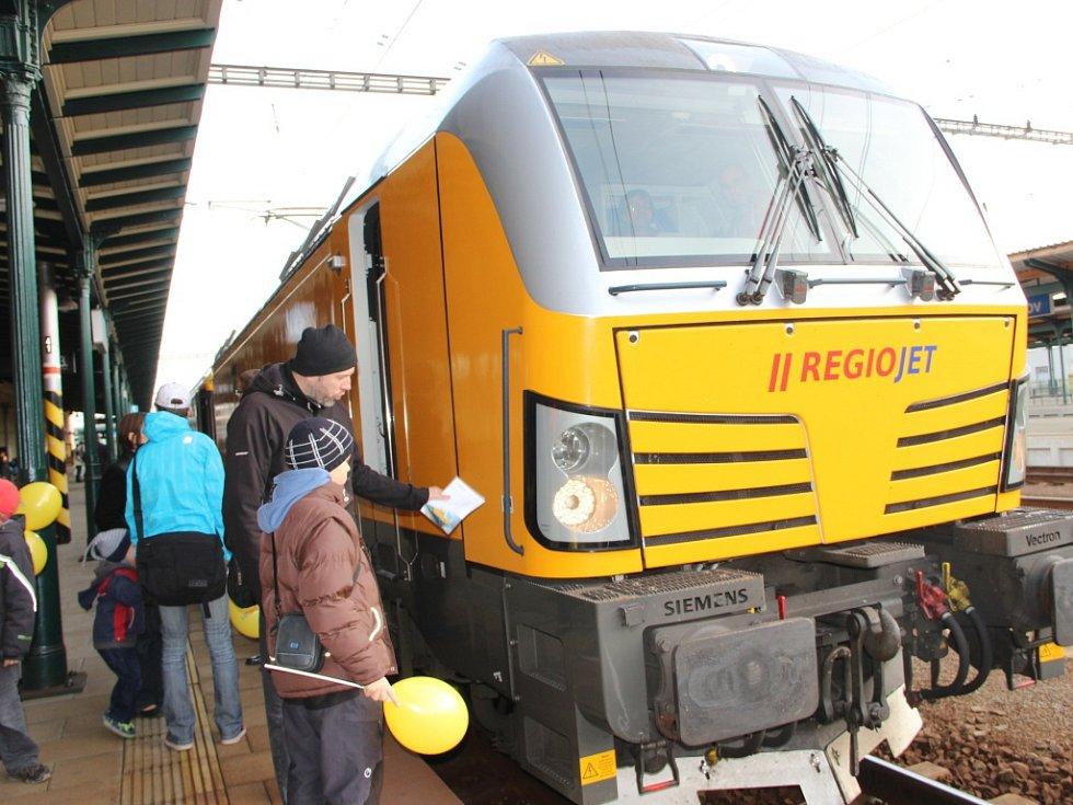 Vlak firmy RegioJet
