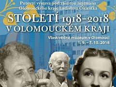 Výstava Století 1918 až 2018 v Olomouckém kraji