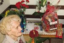 Sto let oslaví v sobotu 17. září Ludmila Chytilová z Přerova, které by její věk nikdo nehádal