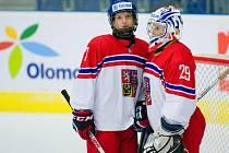 Česko - Finsko. Zápas o 5. místo na MS hokejistek do 18 let v Přerově