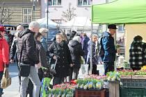 Farmářské trhy v Přerově dýchaly velikonoční atmosférou.