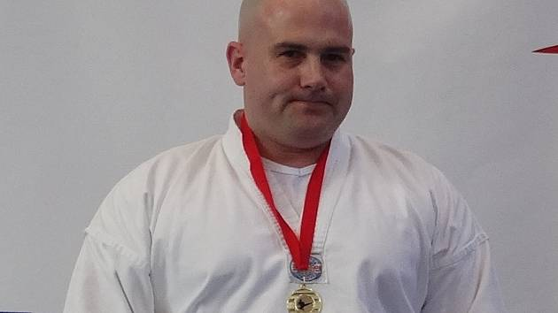 Pavel Poljanský vybojoval v Praze dvě zlaté medaile