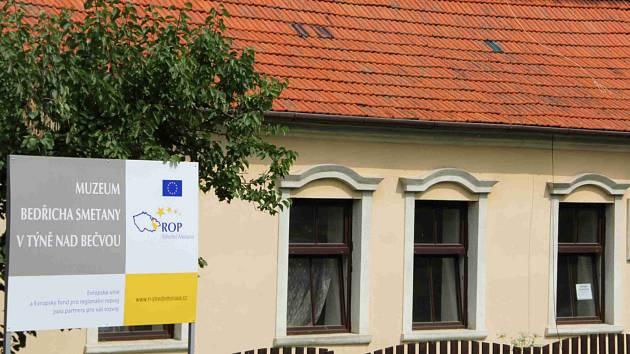 V domě č.p. 166 v Týně nad Bečvou, kde pobýval roku 1852 Bedřich Smetana, vznikne muzeum.