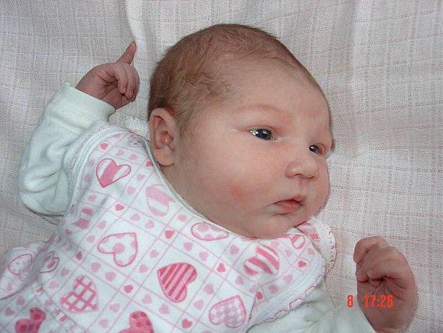 Nina Koláčková, Přerov, narozena 1. března 2010 v Přerově, míra 52 cm, váha 4 020 g