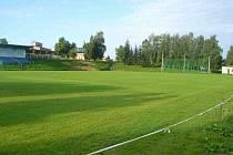 Nově zrekonstruované hřiště v Beňově