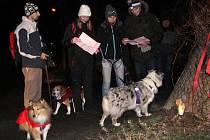 Večerní pochod na Helfštýn