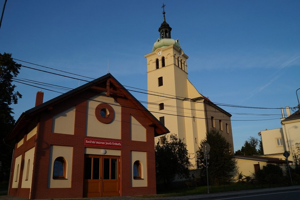 Hasičské muzeum v Rokytnici.