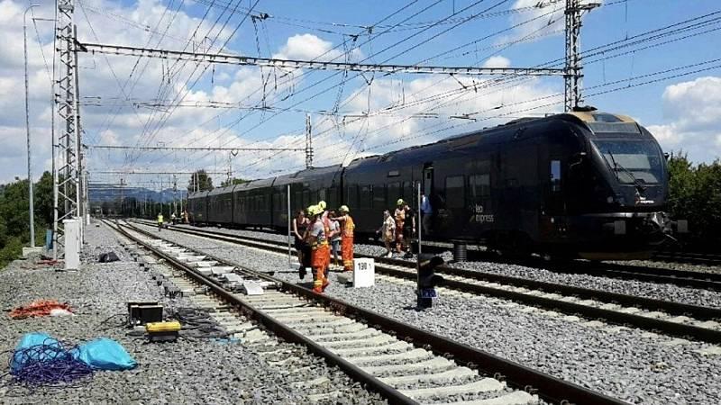 Nehoda na rychlíkové trati u Prosenic, 4. července 2020