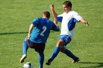 Fotbalisté Viktorie Přerov proti Otrokovicím