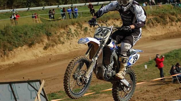 Závod mezinárodního mistrovství ČR v motokrosu v Přerovské rokli