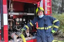 Profesionální hasič a rodák z Oseku nad Bečvou Radek Buryánek