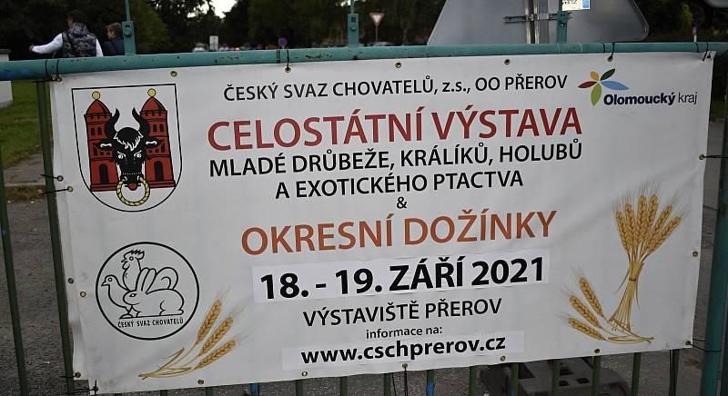 Celostátní výstava domácího zvířectva a Okresní dožínky na přerovském výstavišti. 18.9. 2021