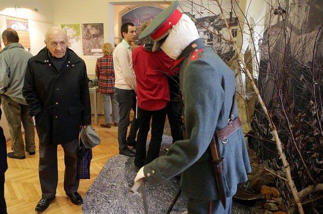 Výstava Zkáza znebe. K70. výročí bombardování Přerova a leteckých bojů nad Přerovskem.