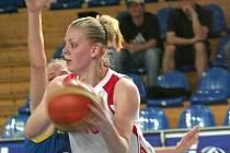 Pavla Švrdlíková hraje za Frisco Sika Brno od mladších dorostenek. Letos už trénuje i s áčkem