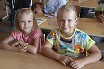 Základní škola Trávník v Přerově přivítala ve čtvrtek ráno 93 prvňáčků.