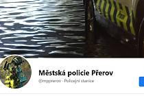 Facebookový profil přerovské městské policie je plný originálně popsaných zásahů strážníků