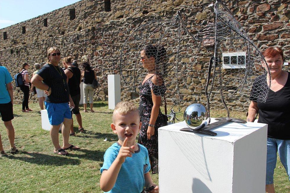Mezinárodní setkání uměleckých kovářů Hefaiston na hradě Helfštýn