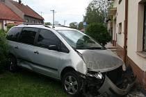 Nehoda v Polkovicích