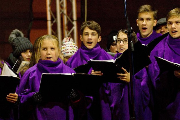 Česko zpívá koledy v Přerově