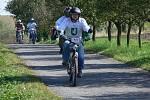 Čtvrtý ročníku závodu mopedů nazvaného Záhorská střela se uskutečnil v sobotu 24. září v Býškovicích na Přerovsku.