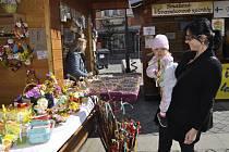 Velikonoční trhy v centru Přerova