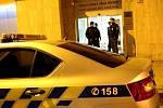 V budově Exekutorského úřadu Tomáše Vrány zasahuje policie