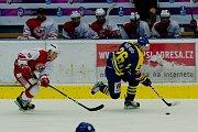 Hokejisté Přerova na přípravném turnaji Zubr Cup proti HC Slavia Praha.
