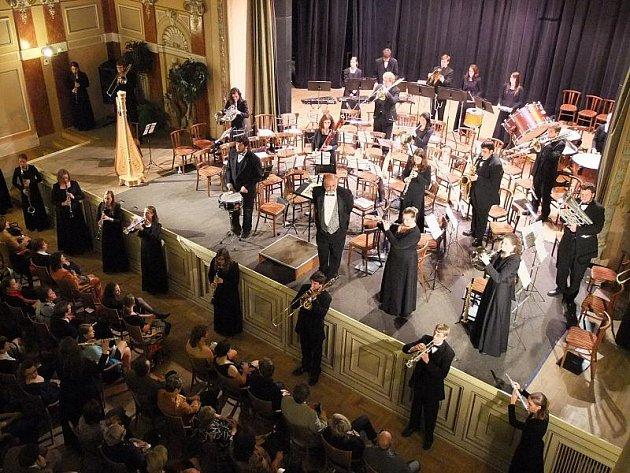 Koncert amerického žesťového orchestru Wartburg College Wind Ensemble v Městském domě