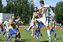 Fotbalisté Kozlovic v přípravě proti Novým Sadům