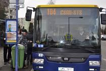 Městská hromadná doprava v Přerově.
