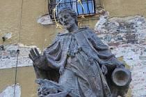 Socha svatého Jana Nepomuckého v Lipníku nad Bečvou