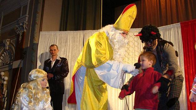 Mikulášování v Městském domě v Přerově