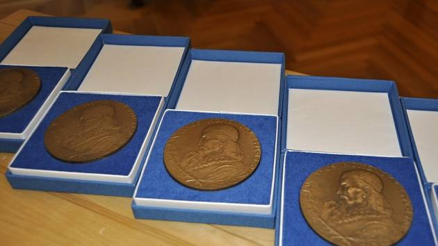 Ceny města Přerova - medaile Komenského