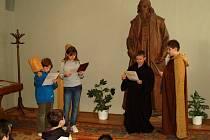 Lektorský program pro žáky nazvaný Škola hrou v Muzeu Komenského v Přerově