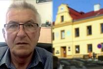 Starosta Horní Moštěnice Vladimír Martínek.
