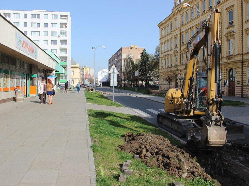 V Přerově začalo rozšiřování Palackého ulice