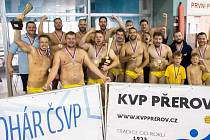 Vodní pólisté Přerova v domácím bazénu ovládli Pohár ČSVP.