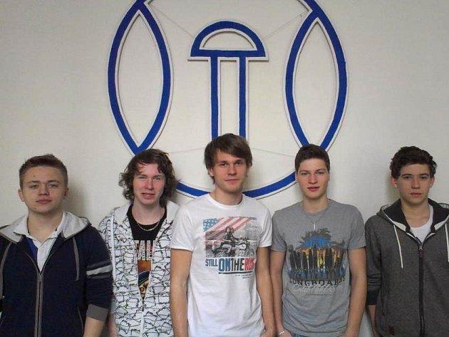 Pět studentů ze Střední průmyslové školy v Přerově se zapojilo do soutěže F1 ve školách