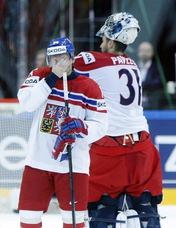 MS v hokeji 2015 v Praze. Semifinále Česko - Kanada