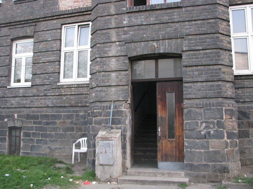 Dům v Husově ulici č. 17, kde vyrůstal známý český básník a přerovský rodák Josef Kainar