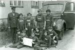 Mladí hasiči Radslavice vroce 1975.