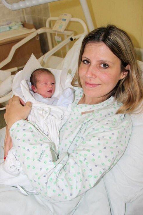 Prvním miminkem, které se narodilo na Nový rok v přerovské porodnici, je malý Mareček. Na svět ho přivedla šťastná maminka z Hranic
