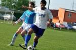 FC Želatovice (v modrém) vs. FKM Opatovice/Všechovice.