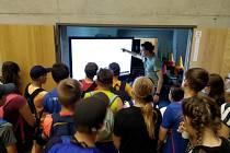 Žáci ze ZŠ Za mlýnem v Přerově objevovali Baluo