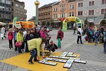Barevný den na náměstí TGM v Přerově