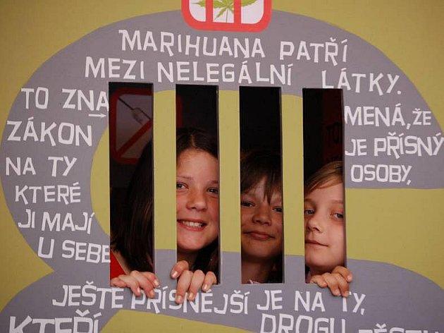 Výstava o problematice drog v budově přerovského magistrátu