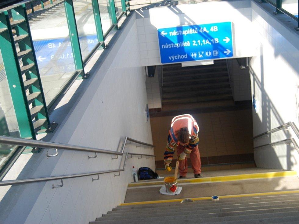 Cestující se dočkají otevření druhého nástupiště na přerovském vlakovém nádraží 20. listopadu