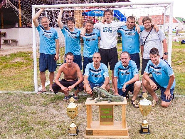 Tým Dlážka City, vítěz Citov Cupu 2012