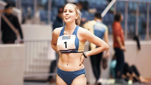 Přerovský atletka Gabriela Patalová